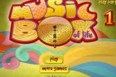Играть История музыкальной шкатулки 1 онлайн флеш игра для детей