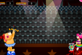 Играть Пузыри в цирке онлайн флеш игра для детей