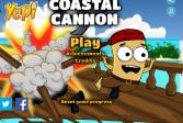 Играть Прибрежные пушки онлайн флеш игра для детей