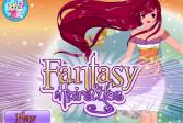 Играть Фантастические прически онлайн флеш игра для детей