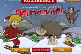Играть Лыжные маньяки онлайн флеш игра для детей