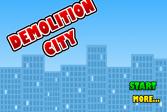 Играть Разрушаем город онлайн флеш игра для детей