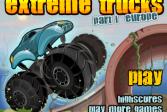 Играть Экстремальные джипы 1 Европа онлайн флеш игра для детей