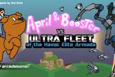 Играть Апрель и помощник онлайн флеш игра для детей