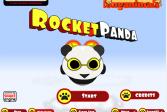 Играть Ракетная панда онлайн флеш игра для детей
