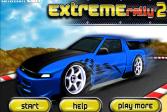 Играть Экстремальное ралли 2 онлайн флеш игра для детей
