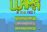 Играть Лама на батуте онлайн флеш игра для детей