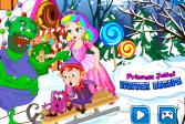 Играть Принцесса Джульетта: Зимний побег онлайн флеш игра для детей