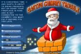 Играть Проблема дымохода Санты онлайн флеш игра для детей