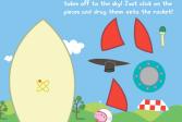 Играть Свинка Пеппа в космосе онлайн флеш игра для детей