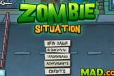 Играть Зомби в городе онлайн флеш игра для детей