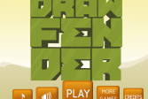 Играть Нарисуй защиту онлайн флеш игра для детей