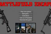 Играть Побег Из Поля Боя онлайн флеш игра для детей