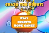 Играть Уничтожь робота онлайн флеш игра для детей