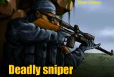 Играть Смертельный снайпер онлайн флеш игра для детей