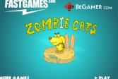 Играть Зомби коты онлайн флеш игра для детей