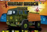 Играть Военная миссия грузовика онлайн флеш игра для детей