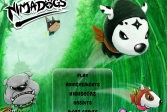 Играть Собаки ниндзя онлайн флеш игра для детей