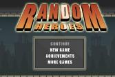 Играть Случайные герои онлайн флеш игра для детей