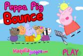 Играть Прыжки Свинки Пеппы онлайн флеш игра для детей