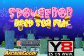 Играть Губка Боб: Глубокое море онлайн флеш игра для детей