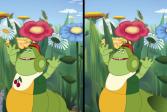 Играть Лунтик ищет отличия на картинках онлайн флеш игра для детей