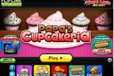 Играть Папа Луи: Кафе кексов папы онлайн флеш игра для детей