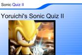 Играть Тест про Соника онлайн флеш игра для детей