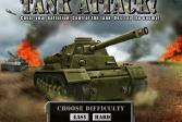 Играть Танковая атака онлайн флеш игра для детей