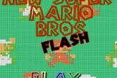 Играть Новый супер Марио онлайн флеш игра для детей