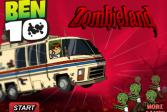 Играть Бен 10 в Зомбилэнде онлайн флеш игра для детей