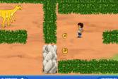Играть Диего: Спасение динозавра онлайн флеш игра для детей