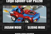 Играть Лего автомобили: Автомобиль-паук онлайн флеш игра для детей