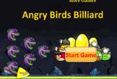 Играть Бильярд со злыми птичками онлайн флеш игра для детей