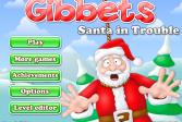 Играть Виселица: Санта в беде онлайн флеш игра для детей