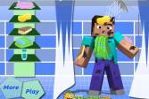 Играть Майнкрафт: Грязный Стив онлайн флеш игра для детей