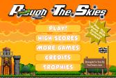 Играть Вспашите небеса онлайн флеш игра для детей