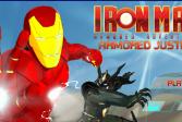 Играть Железный человек. Стальная справедливость онлайн флеш игра для детей