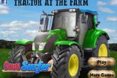Играть Трактор на ферме онлайн флеш игра для детей