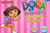 Играть Даша в Поисках Друзей онлайн флеш игра для детей