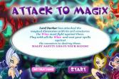 Играть Магическая атака онлайн флеш игра для детей