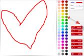 Играть Рисовалка онлайн флеш игра для детей