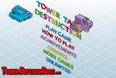 Играть Танки Разрушители онлайн флеш игра для детей