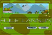 Играть Огромная Пушка онлайн флеш игра для детей