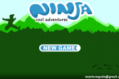 Играть Ниндзя: Классные приключения онлайн флеш игра для детей