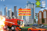 Играть Агрессивный комбайн онлайн флеш игра для детей