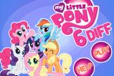 Играть Мой маленький пони - 6 отличий онлайн флеш игра для детей