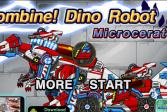 Играть Дино-робот: Микроцератус онлайн флеш игра для детей