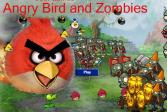Играть Злые птицы: Война с зомби онлайн флеш игра для детей