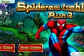 Играть Человек-паук Побег Зомби 2 онлайн флеш игра для детей